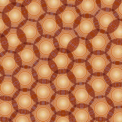Circles Abstract Poster by Frank Tschakert