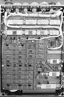 Circuit Board From Phobos Probe Poster by Science Photo Library