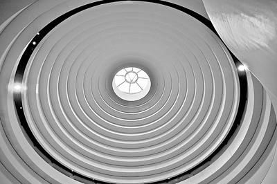 Circular Dome Poster