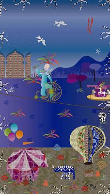 Circus Juggler Poster