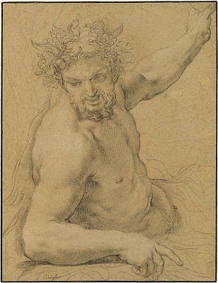 Ciro Ferri Italian, 1634 - 1689, Reclining Satyr Poster by Quint Lox