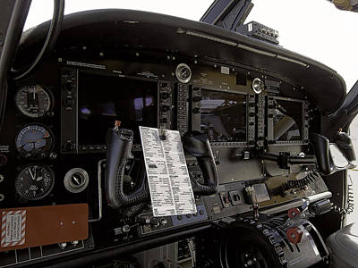 Cirrus S R 22 Cockpit Poster by Daniel Hagerman