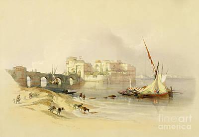 Citadel Of Sidon Poster by David Roberts