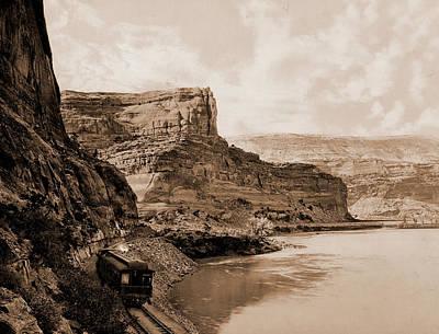Citadel Walls, Canon Of The Grand, Utah, Jackson, William Poster