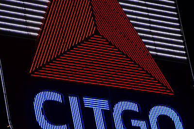 Citgo Sign Closeup Boston Ma Poster by Toby McGuire