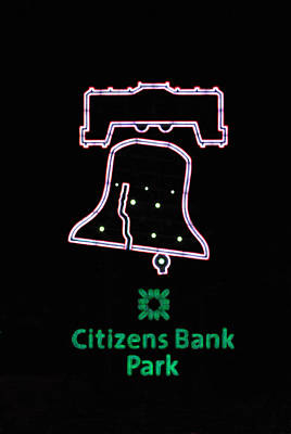 Citizens Bank Park Home Run Poster