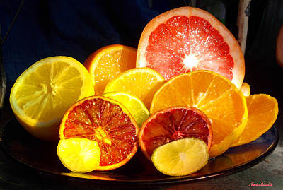 Citrus Season Poster by Anastasia Savage Ealy
