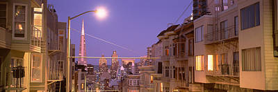 City At Night, San Francisco Poster by Panoramic Images