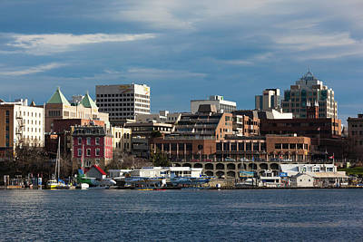 City At The Waterfront, Inner Harbor Poster