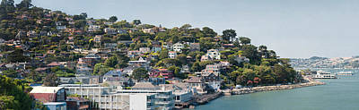 City At The Waterfront, Sausalito Poster by Panoramic Images