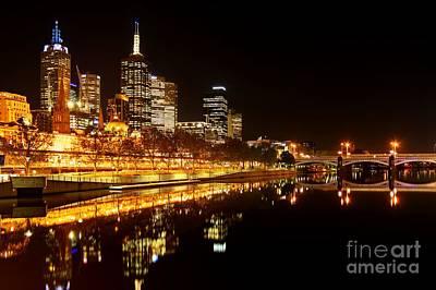 City Glow Poster by Andrew Paranavitana