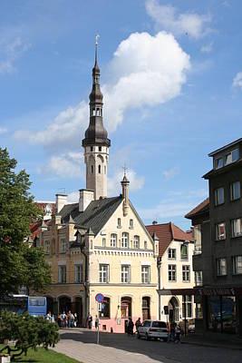 City Hall In Tallinn - Estonia Poster