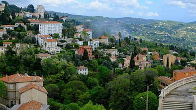 City Hills Of Grasse France Poster