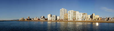 City In Waterfront, Vinaros, Province Poster by Panoramic Images