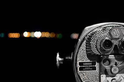 City Lights In Bokeh Poster by Andrew Crispi