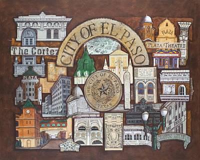 City Of El Paso Poster