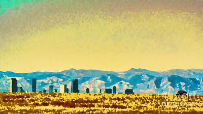 City On The Plains Poster