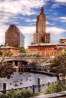 City - Providence Ri - The Skyline Poster