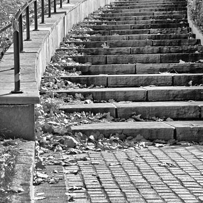 City Steps 1 Squared Poster by Angelina Vick