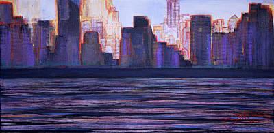 City Sunset Poster by Jack Diamond