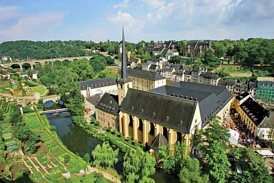 City View Of St Johanneskirche Poster by Miva Stock