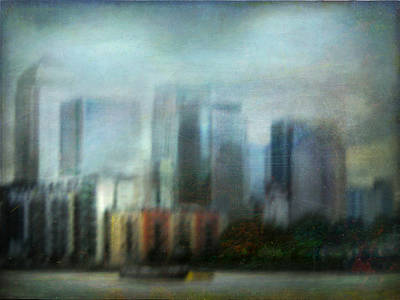 Poster featuring the photograph Cityscape #26 by Alfredo Gonzalez