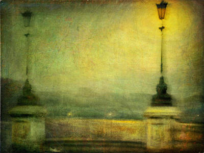Poster featuring the photograph Cityscape #29. Parisienne Walkways by Alfredo Gonzalez