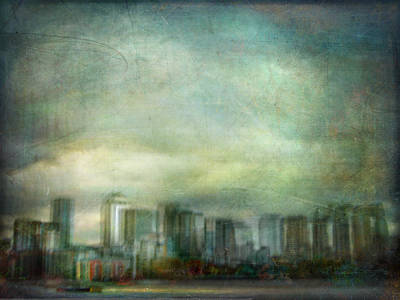 Poster featuring the photograph Cityscape #32. Chrystalhenge by Alfredo Gonzalez