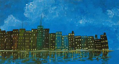 Cityscape Poster by Estefan Gargost