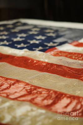 Civil War Battle Flag Poster