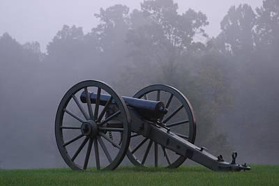 Civil War Cannon 1 Poster by John Brueske