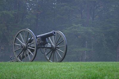 Civil War Cannon 3 Poster by John Brueske