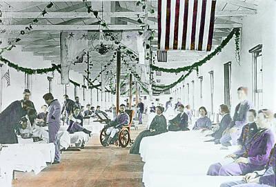 Civil War Era Photograph 1861 To 1865 Poster