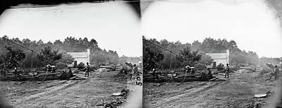 Civil War Field Hospital Poster
