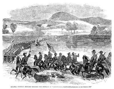Civil War Potomac, 1861 Poster