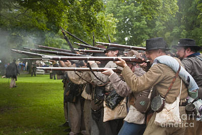 Civil War Reenactment 1 Poster