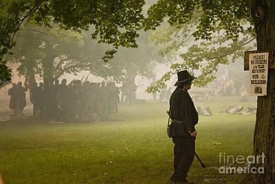 Civil War Reenactment 3 Poster