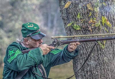 Civil War Sharpshooter Poster by Randy Steele