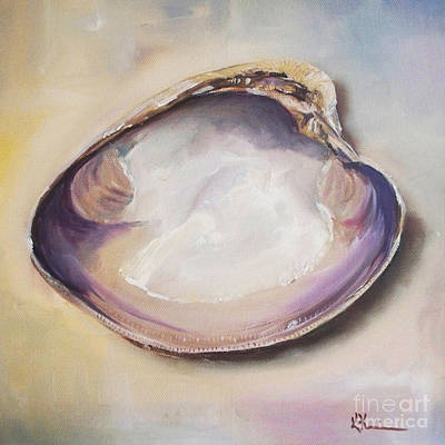 Clam Shell No. 4 Poster by Kristine Kainer