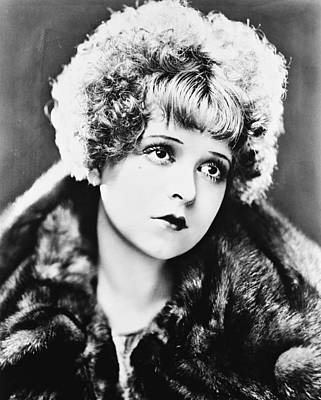 Clara Bow Poster by Silver Screen