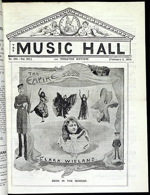 Clara Wieland Poster by British Library