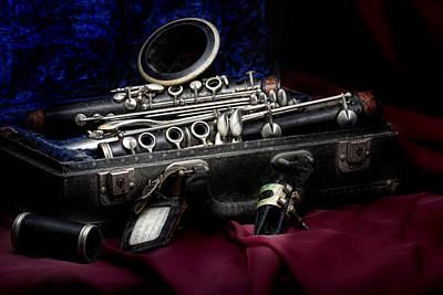Clarinet Still Life Poster