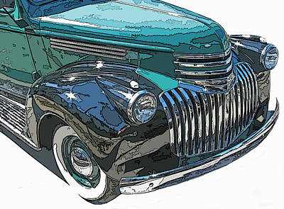 Classic Chevy Pickup 2 Poster