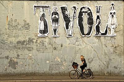 Classic Copenhagen Poster by Inge Riis McDonald