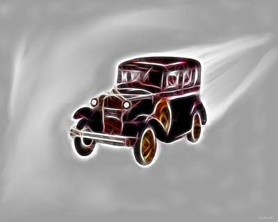 Classic Model A Poster by Daniel Madrid