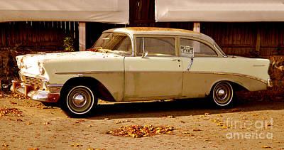 Classic Vintage Car Poster