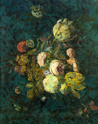 Classical Bouquet - S04bt01 Poster by Variance Collections