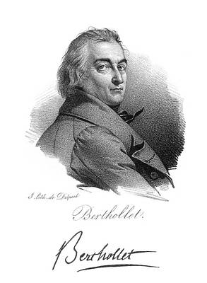 Claude Louis Berthollet (1748-1822) Poster by Granger