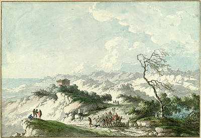 Claude-louis Châtelet, Second View Of The Agrigento Poster by Quint Lox