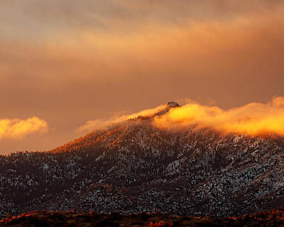 Clearing Storm Hualapai Mountains Az Poster